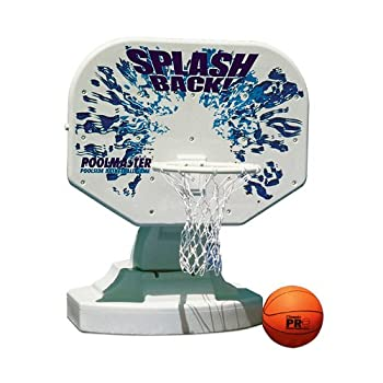 Image of Poolmaster 72820 Splashback Poolside Basketball Game Basketball & Volleyball Sets