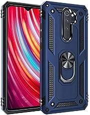 armor case for xiaomi redmi note 8 pro blue