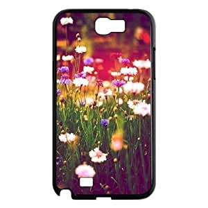 Beautiful Wildflowers Brand New Cover Case with Hard Shell Protection for Samsung Galaxy Note 2 N7100 Case lxa#423653