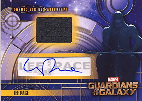 2014 Guardians of the Galaxy Trading Card Set CSA-5 Cosmic Strings-Autograph Lee Pace as Ronan