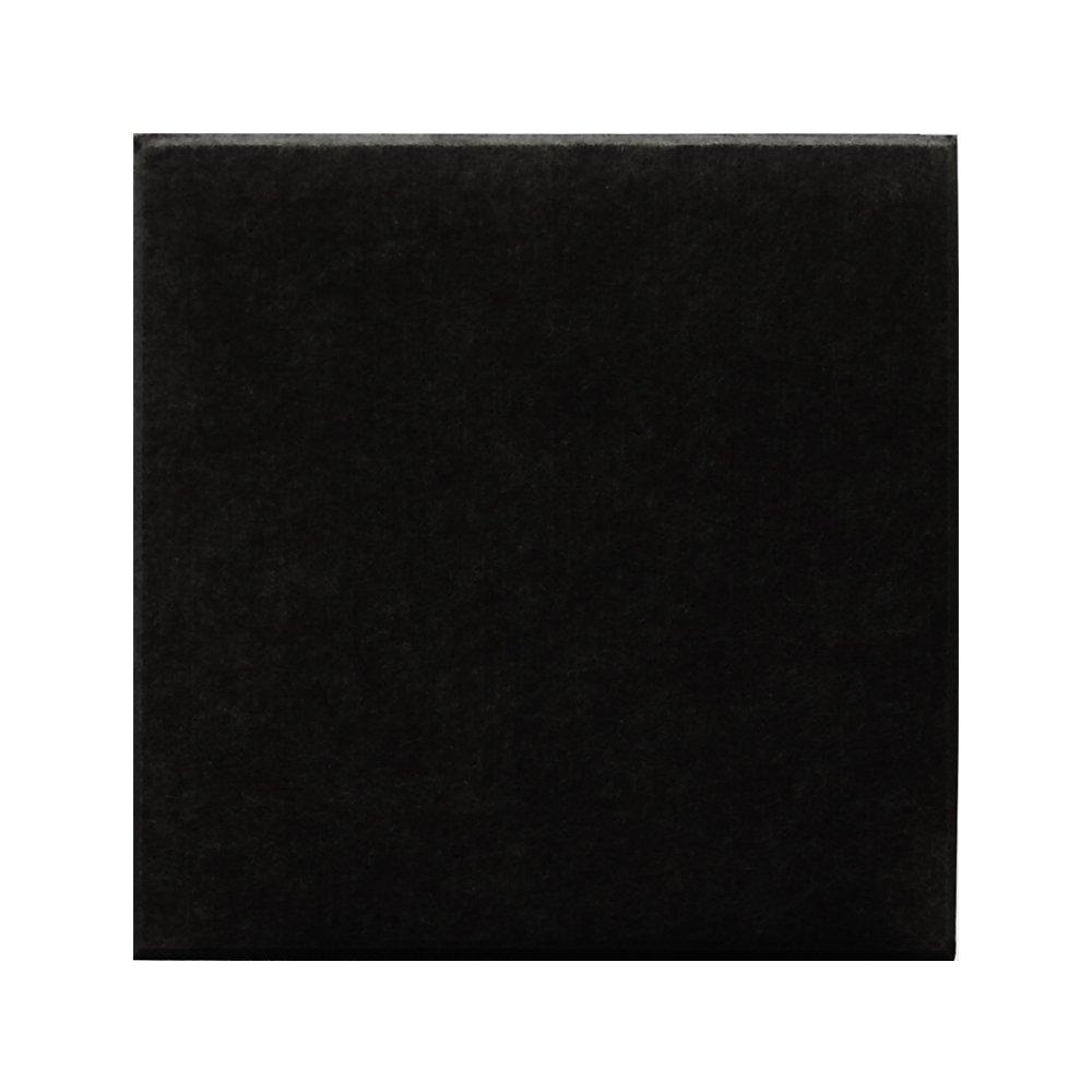 【30枚セット】 壁紙 失敗しない 貼るだけで省エネ 光熱費節約 後付けできる断熱材 フェルトパネル 45度カット 30×30cm ブラック DS-FB-3030C-BK-CTN B077HGZS15
