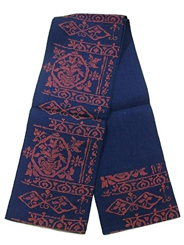 ルーフ不承認犯すリサイクル 名古屋帯 八寸 装飾模様 紬 正絹