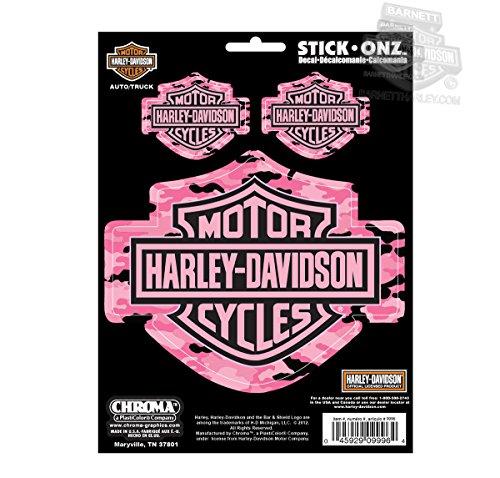 Harley-Davidson-Pink-Camo-BS-3-pk-Decals