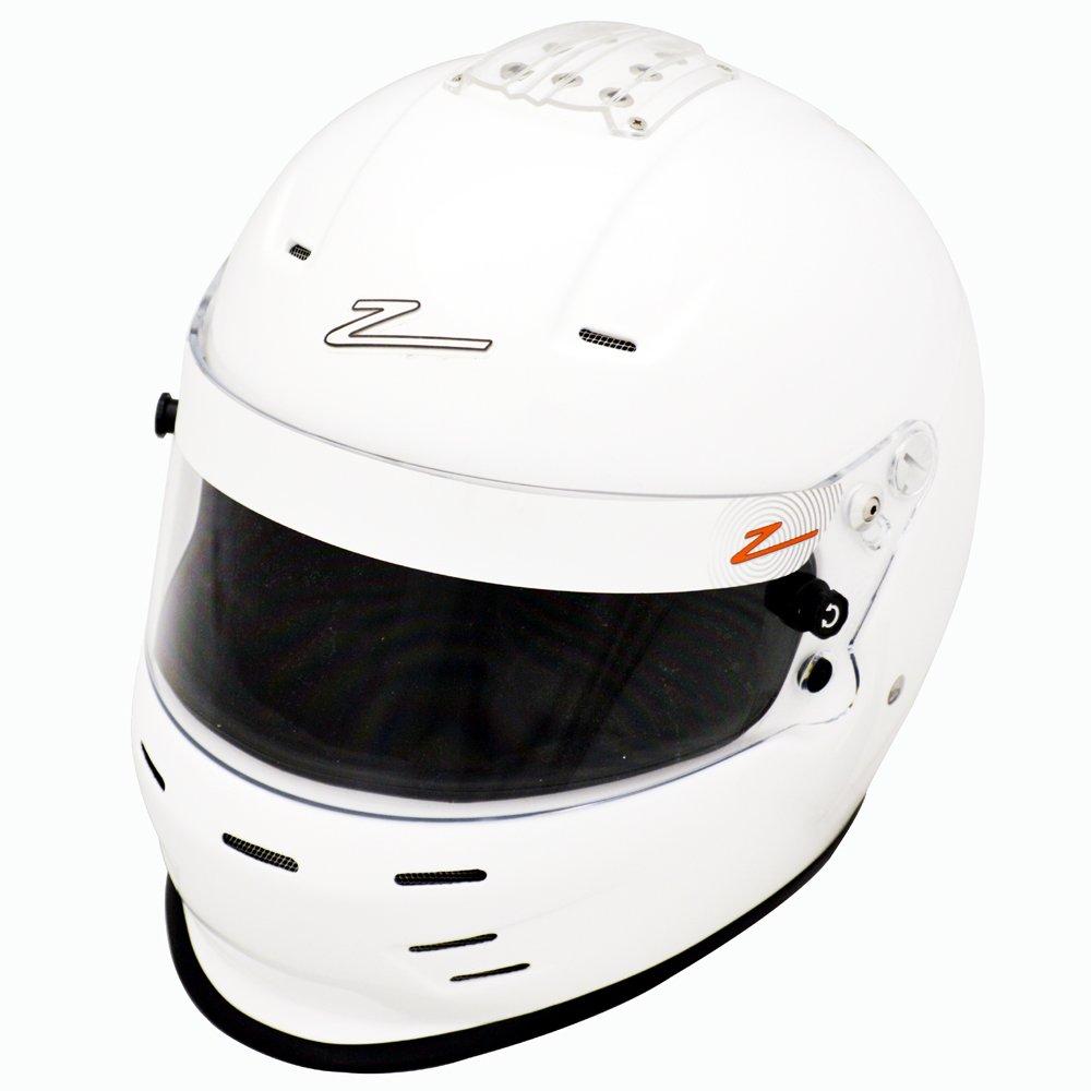 FIA 8859-2015 White Helmet by Zamp Medium RZ-35E Snell SA2015