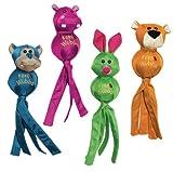 KONG Wubba Ballistic Friends Dog Toy, X-Large, Assorted, My Pet Supplies