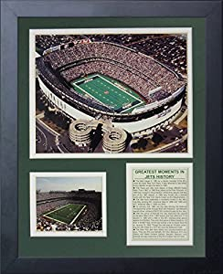 "Legends Never Die ""New York Jets Stadium"" Aerial Framed Photo Collage, 11 x 14-Inch"