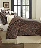 Noble Excellence Villa Julian Full/Queen 3 Piece Comforter Set Paisley Multi