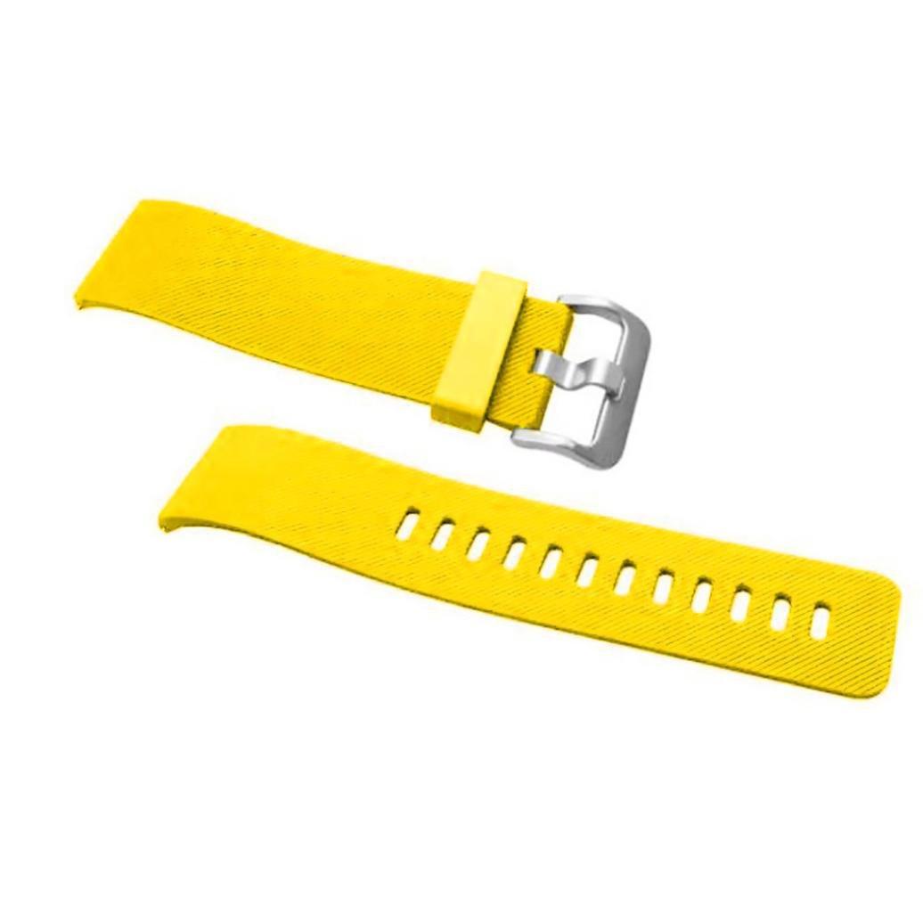 AloneAソフトシリコン時計バンド手首ストラップfor Fitbit Blazeスマート時計 イエロー イエロー B01M36DS8O