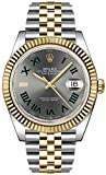 Rolex Datejust 41 Slate Dial Men's Luxury Watch on Yellow Rolesor...