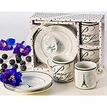 Artisano Designs Paris is for Lovers Espresso Cup Favor Set