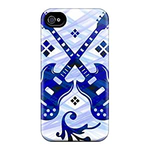 Amazing Art-Cases Case Cover Protector Specially Made For Iphone 4/4s Guitarsouls1