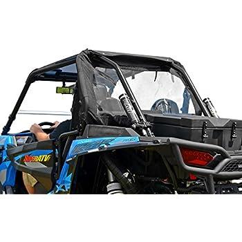 SuperATV Rear Windshield Soft Panel for Polaris RZR 1000 / XP Turbo / 900 / S