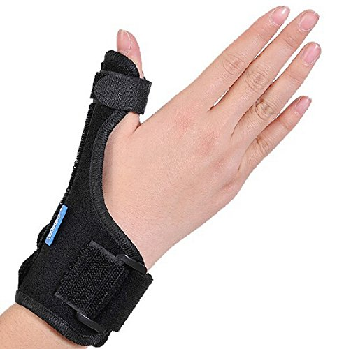 OBER Medical Thumb Splint Wrist Brace Plus Finger Tenosynovitis Armor Thumb Sprains Fracture Fixed For De Quervain's Tenosynovitis, Tendonitis, Trigger Thumb Spica, Carpal Tunnel