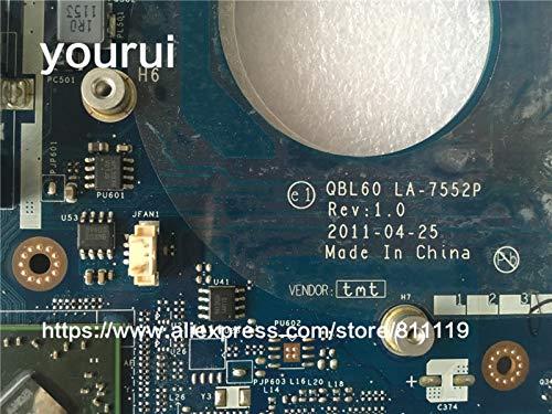 Plug Type: K53T Pukido yourui K53TA K53TK K53T X53T X53TA X53TK For motherboard QBL60 LA-7552P USB 3.0 DDR3 mainboard TESTED FULLY