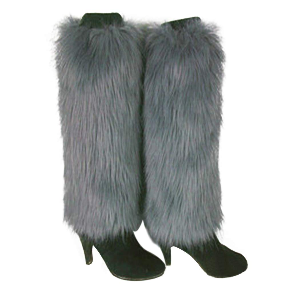 Warm Leg Shineweb Winter Women Boot Covers/Solid Color Soft Leg Warmers