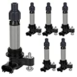 2010 camaro ignition coil - Ignition Coil Pack Set of 6 Replaces OE# GN10494 D515C UF569 for Buick Enclave Cadillac CTS SRX GMC Acadia Chevy Camaro Malibu Impala Traverse Pontiac Saab Saturn Outlook Suzuki & more- 2 Yr Warranty