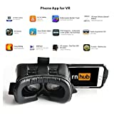 Carmilo Goggles Heardset 360 Degree Panoramic View Innovative Design 3D VR for Iphone Work for 3.5 to 5.7 inches Smartphones