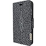 Piel Frama Wallet Case for Apple iPhone 7 - Stingray Black