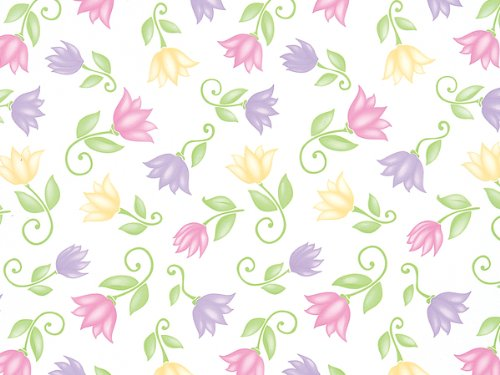 Pack Of 1, Flower Dance Cello Roll 1.0 Mil 40'' X 100' Made In USA For Mother''S Day, Spring & Summer by Generic