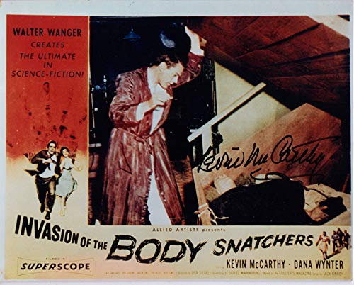 KEVIN MCCARTHY SIGNED 8x10 PHOTO INVASION OF THE BODY SNATCHERS BECKETT BAS
