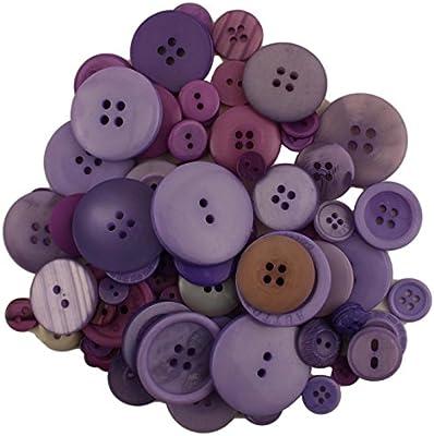 Buttons Galore GB136 Grab Bag Sugarplum Button