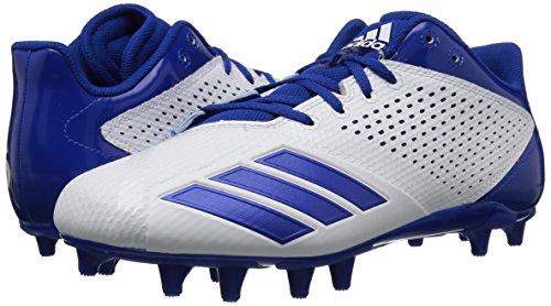 Pictures of adidas Men's 5.5 Star Football CG4322 White/Collegiate Royal/Collegiate Royal 4