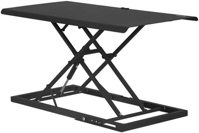 YAN Mesa Plegable Sit Stand Escritorio PC Workstation Altura ...