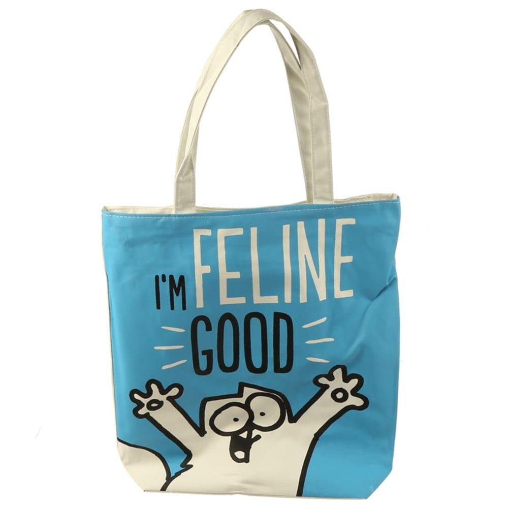 Simon's Cat - Einkaufstasche aus Baumwolle