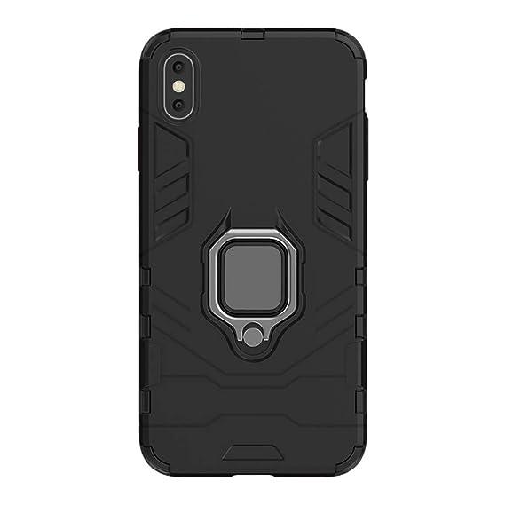 coque iphone xs max silicone magnetique