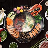 Food Party 2 in 1 Electric Smokeless Grill and