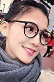 Generic Small wind fresh new Korean Institute of literary retro glasses frame man boy and women girls lady models Beautiful big box plain mirror face-lift
