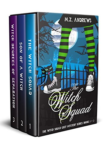 The Witch Squad Cozy Mystery Series Books 1