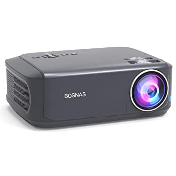 Bosnas Projector 3800 Lumens HD Video Projector 200 Home Cinema ...