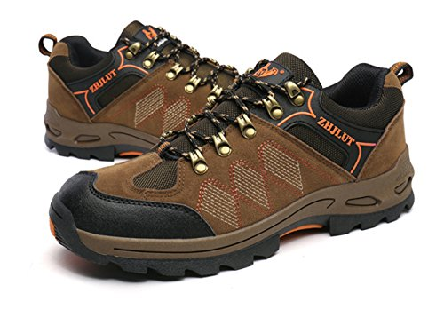 SK Studio Women's Unisex Travel Low Hiking Shoes Brown(Women) GIpXGSvf