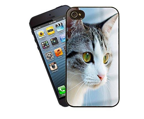 041 chat-Coque pour iPhone-La-Coque pour Apple iPhone 4/4s-By Eclipse idées cadeaux