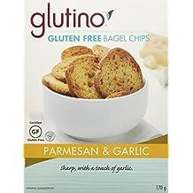 Glutino Gluten Free Bagel Chips Parmesan And Garlic, 170 gm