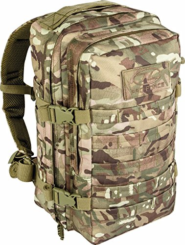 Pro Force Army, Olivengrün Recon Rückseite Pack Tag Travel 20L Rucksack SURPLUS MTP Tasche New tt164-hc