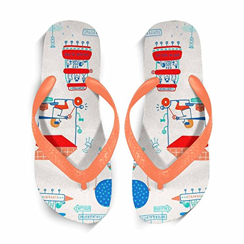 Sandals Women Orange Shoes Summer Comfortable Flip Stylish Flip for Casual Slippers Flop Beach Flops Beach Flops Flip fcEavZ