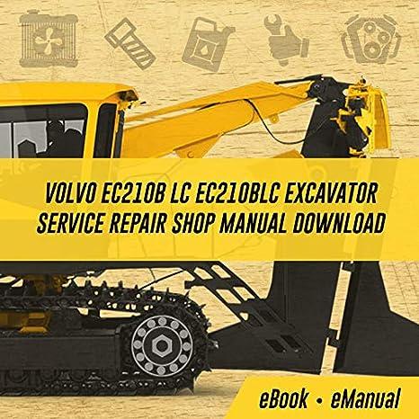 VOLVO EC55 MINI EXCAVATOR SERVICE SHOP REPAIR MANUAL BOOK NEW