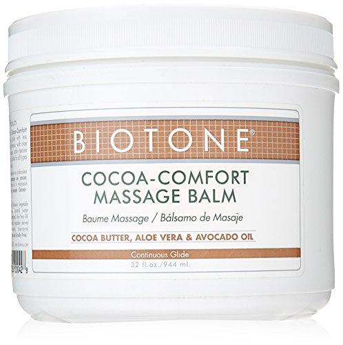 Biotone Cocoa-Comfort Massage Balm, 32 Ounce