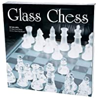 33pc Glass Chess Set
