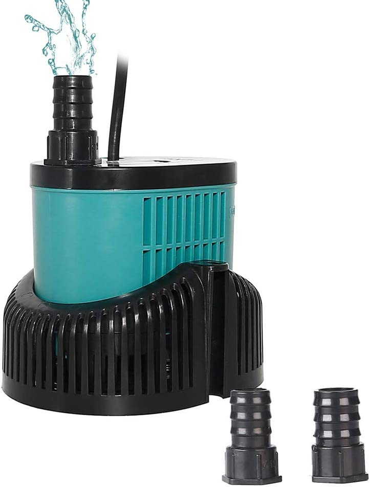 boxtech Submersible Water Pump - Ultra Quiet Mini Small Fountain Pump for Fish Tank, Pond, Rockery and Hydroponics