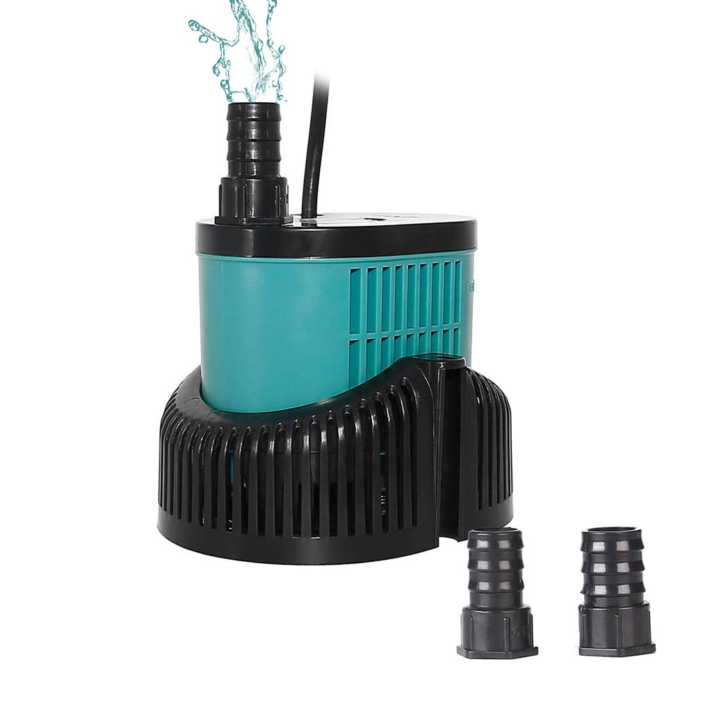 boxtech Submersible Water Pump - Ultra Quiet Mini 1056 GPH 60W with 12ft High Lift Powerhead Fountain Pump for Aquarium Fish Tank, Pond, Rockery and Hydroponics by boxtech