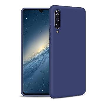 Funda Samsung A50, Azul Silicona Funda para Samsung A50 ...