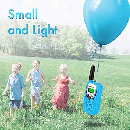 Walkie Talkies, Duyoi Kids Walkie Talkies 3 Packs 3 Miles Range with LCD Screen Flashlight Walkie Talkies for kids Toy Camping Hiking Outdoor Adventures by Duyoi (Image #5)