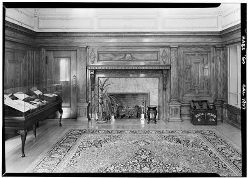 Photo: Whittier Mansion,2090 Jackson Street,San Francisco,California,HABS,San - Map Shopping Fran San