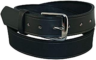 product image for Boston Leather Men's Big & Tall Leather 1 1/2 Inch Off Duty Belt