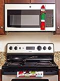 ienjoyware Snowman Kitchen Appliance Refrigerator