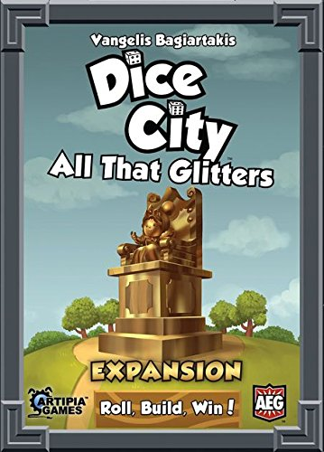 Alderac Entertainment Group (AEG) Dice City All That Glitters Board Games