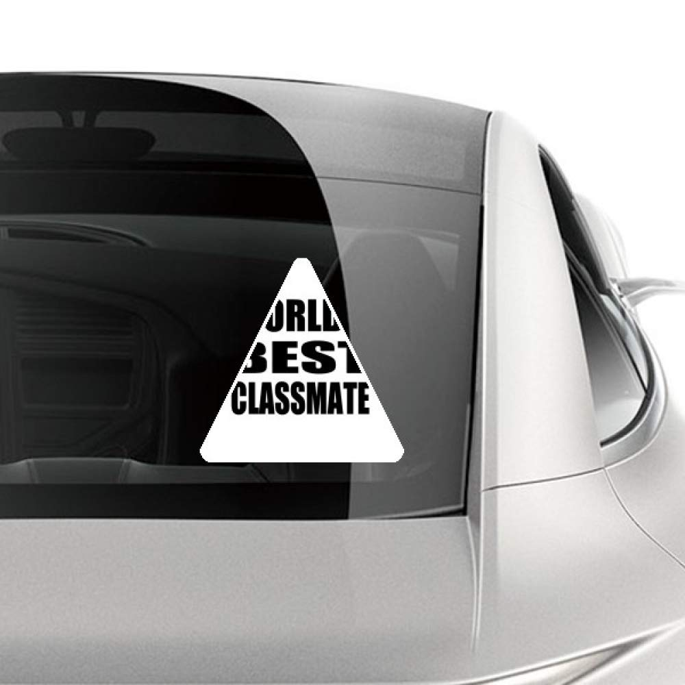 Amazon com diythinker worlds best classmate graduation season car sticker motorcycle bicycle styling decal automotive